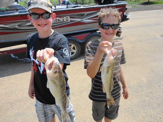 Lakes Oahe/Sharpe Pierre Area fishing report for July 4th 5th and 6th 2013