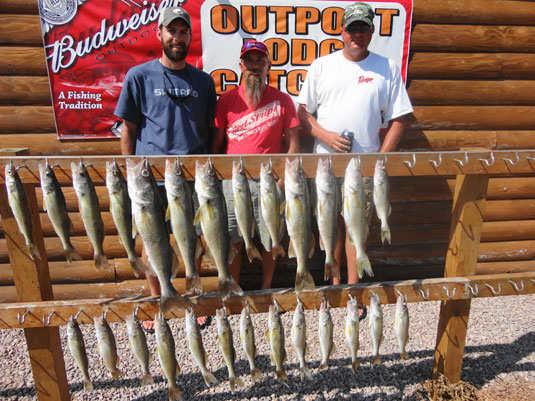 Lake's Oahe/Sharpe Pierre area fishing report for July 11th thru July 14th 2013