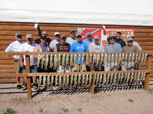 Lakes Oahe/Sharpe fishing report Pierre area for Aug 24th thru the 29th 2013