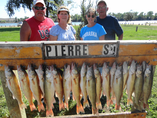 Lakes Oahe/Sharpe Pierre area fishing report for Sept 2nd and 3rd 2013