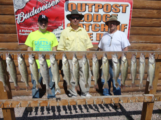 Lakes Oahe/Sharpe Pierre Area fishing report for Sept. 4th to the 7th 2013