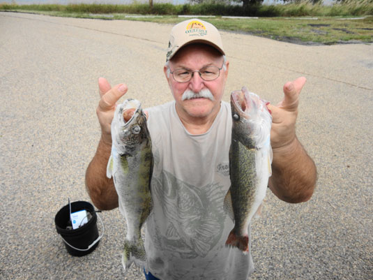Lakes Oahe/Sharpe Pierre area fishing report for Sept. 8th thru the 11th 2013