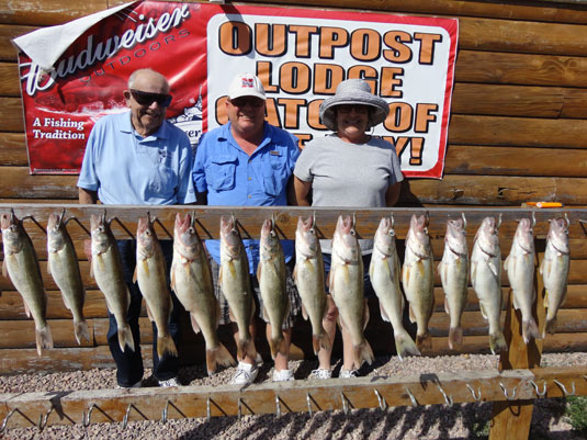 Hutch 39 s guide service fishing reports for lake oahe and for South dakota fishing report