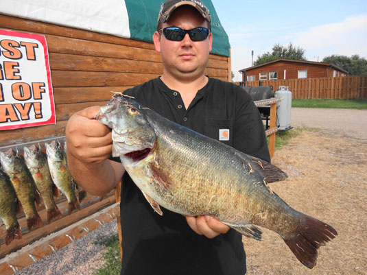 Step van fishing report sd for Webster sd fishing report