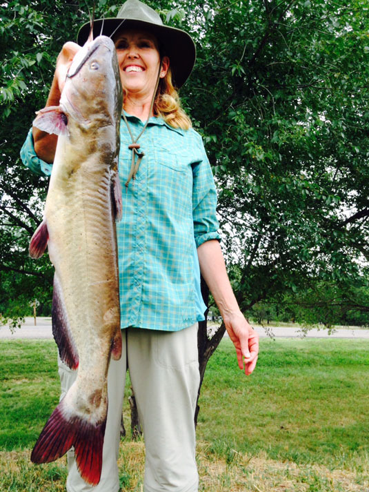 Fishing Report Lake's Oahe/Sharpe Pierre area for Aug 12th and 13th 2015