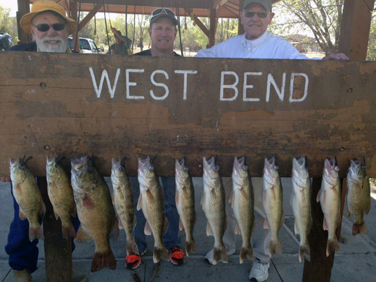 Lakes Oahe/Sharpe Pierre area fishing report for April 23rd to May 2nd 2015