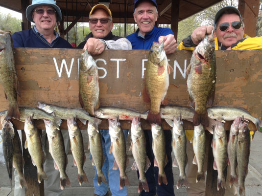 Lakes Oahe/Sharpe Pierre area fishing report for May 3rd 4th and 5th 2014