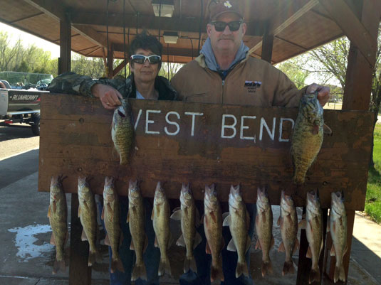 Fishing Report Lakes Oahe/Sharpe Pierre area for May 11th thru the 13th 2015