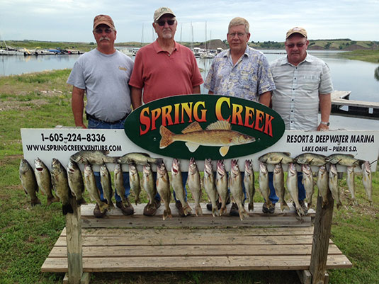 Fishing Report Lakes Oahe/Sharpe Pierre area June 25th thru June 28th 2015