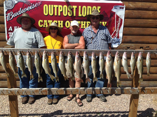 Fishing Report Lakes Oahe/Sharpe Pierre area for July 14, 15th and 16th 2015