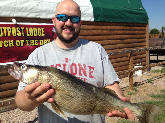 Fishing Report Lakes Oahe/Sharpe Pierre area July 17th thru 20th 2015