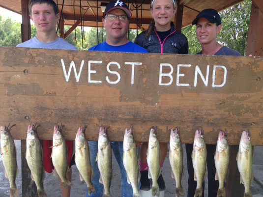 Fishing Report Lakes Oahe/Sharpe Pierre SD for July 24th 25 and 26th 2015