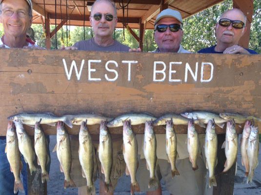 Lakes Oahe/Sharpe fishing report for July 30th and 31th 2015
