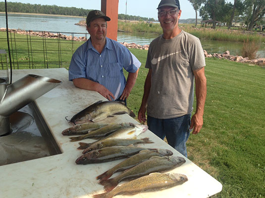 Fishing Report Lakes Oahe/Sharpe Pierre Area for 22nd thru 28th 2015