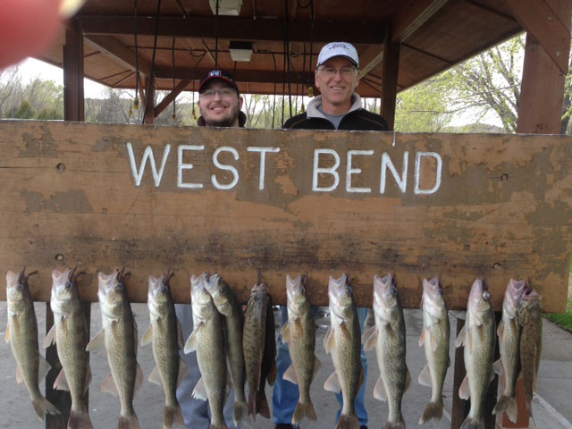 FISHING REPORT LAKES OAHE/SHARPE PIERRE SD AREA FOR WEEK ENDING APRIL 2017