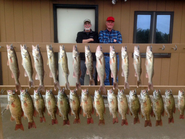 FISHING REPORT LAKES OAHE/SHARPE MAY 7TH TO THE 10TH 2017