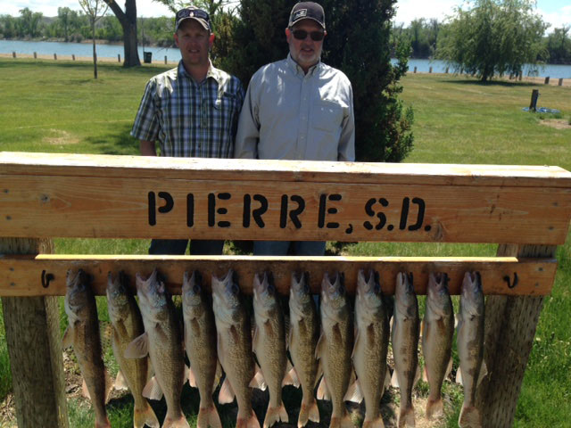 FISHING REPORT LAKES OAHE/SHARPE PIERRE AREA FOR MAY 14TH, 15TH AND 16TH 2017