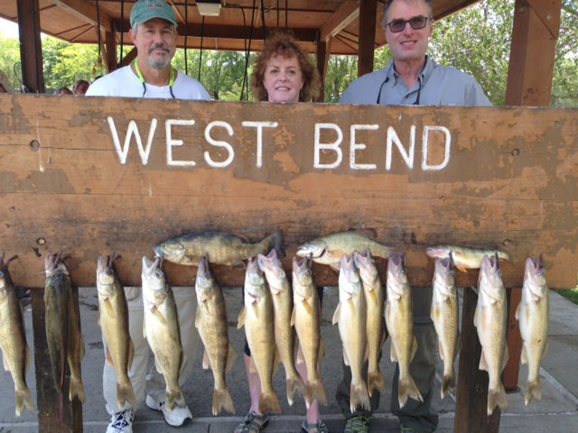 FISHING REPORT LAKES OAHE/SHARPE PIERRE AREA JUNE 1 2ND AND 3RD 2017