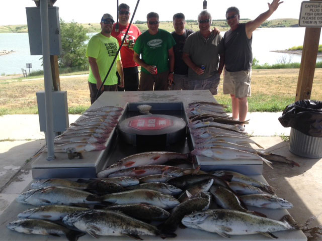 FISHING REPORT LAKES OAHE/SHARPE PIERRE AREA JUNE 10TH AND 11TH 2017