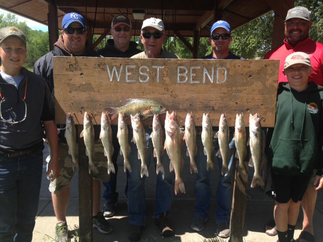FISHING REPORT LAKES OAHE/SHARPE PIERRE AREA JUNE 14TH THRU THE 19TH 2017