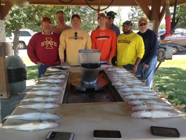 FISHING REPORT LAKES OAHE/SHARPE PIERRE AREA JUNE 23 AND 24TH 2017