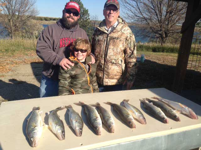 FISHING REPORT LAKES OAHE/SHARPE PIERRE AREA FOR NOVEMBER 10TH THRU THE 20TH 2017