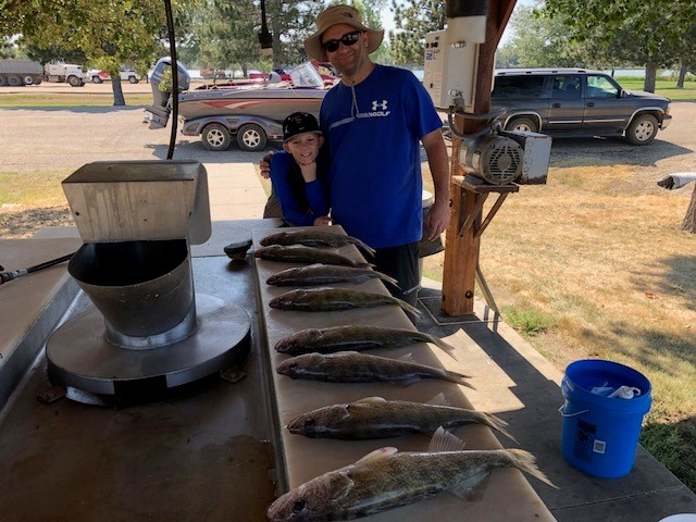 FISHING REPORT LAKES OAHE/SHARPE PIERRE AREA SEPTEMBER 11TH THRU THE 19TH 2018